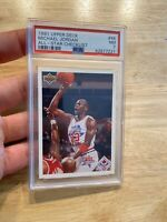 Michael Jordan PSA 7 Collector Card 1991 Upper Deck #48 Chicago Bulls INVESTMENT