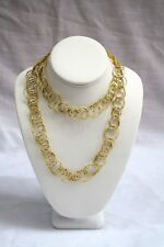 "MAGNIFICENT ORIGINAL BUCCELLATI NECKLACE 36"" LONG 76.8"" GRAMS, ""MUST SEE"""