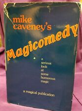 """Magicomedy"" Autographed magic book Mike Caveney 1st edition 1981"
