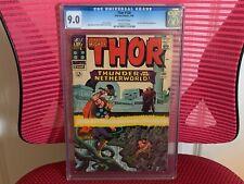 Thor #130 CGC 9.0 Hercules Pluto