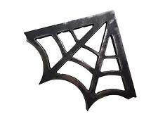 2 Mild Steel Spider Web Gusset 4 x 4 Plasma Cut 3/16 in 90 Degree 1875 Bracket