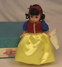 "Madame Alexander Kins Brothers Grimm SNOW WHITE #14545 Wendy 8"" Doll MINT in BOX"
