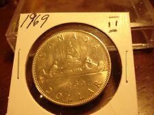 1969 - Canada High Grade dollar coin - Canadian $1