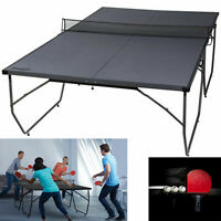 Table Tennis Folding Conversion Top Ping Pong Board Indoor Outdoor Kids Funny