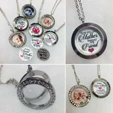 Love Hearts Round Locket Costume Necklaces & Pendants