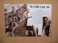 What Did You Do in the War, Daddy? 1966 -  EX YUGOSLAVIA  MOVIE PROGRAM