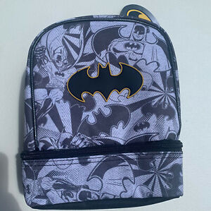 Batman Dual Compartment Lunch Bag / Box Insulated