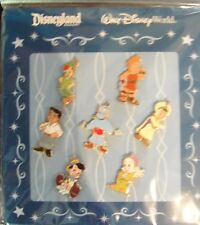 Disney Toddler Boys Mini 7 Pin Booster Set - New on Themed Card - Pin # 63889