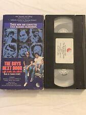 THE BOYS NEXT DOOR VHS CHARLIE SHEEN