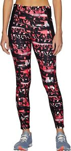 Puma Be Bold All Over Print Womens 7/8 Training Tights - Pink