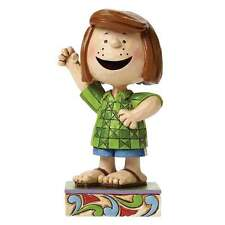 Jim Shore Peanuts Fun Friend Peppermint Patty Figurine New Boxed 4044682