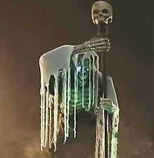Animated Scary TALKING CAULDRON CREEPER Ghoul Demon Zombie Halloween Horror Prop