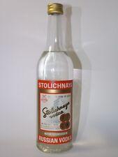Vodka Stolichnaya Russian 40% vol. 50 cl 70 proof alte Version