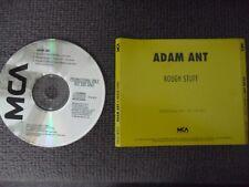 ADAM ANT - Rough Stuff - 3 track US PROMO CD - MCA CD45-18375 - New / Mint 1990