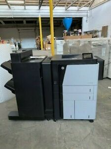 HP LaserJet Enterprise M806 Printer/ stapling finisher and only 11 prints