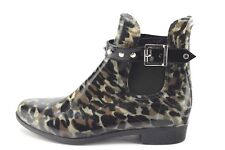 Halogen Womens Camo Camouflage Ankle Buckle Pull On Boots US 7M