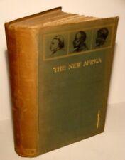 1897 The New Africa-River Exploration-African Game Hunting-Okavango-Botswana-Map
