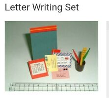 Miniature dolls house accessories Letter Writing Set 1:12th miniature scale size