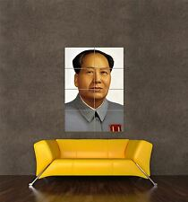 POSTER PRINT PAINTING CHINESE COMMUNIST PARTY FOUNDER CHAIRMAN MAO ZEDONG SEB542
