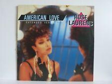 """Rose Laurens – Vinyl 12"""" Maxi – American Love"""