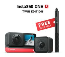 New Insta360 ONE R sports Action Camera Twin Edition + Invisible Selfie Stick