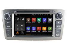 AUTORADIO DVD/GPS/NAVI/BLUETOOTH/ANDROID 5.1/DAB TOYOTA AVENSIS 2003-07 A5587