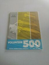 Richard Petty Signed Autographed 1967 Volunteer 500 Program Vintage NASCAR