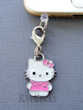 Hello Kitty cell phone Charm Anti Dust proof Plug ear cap jack For iPhone C210