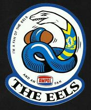 'I'M A FAN OF THE EELS & AMPOL' Vinyl Decal Sticker PARRAMATTA nrl rugby league