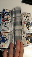 2019-20 UD SERIES 1 - COMPLETE BASE SET #'s 1 - 200 - CHEAP LOT! COMES W/ PAGES!