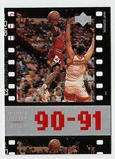Michael Jordan 1998 Upper Deck Timeframe23 90-91 MVP Season Basketball card