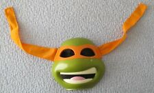 TEENAGE MUTANT NINJA TURTLES, MICHELANGELO DELUXE MASK. PREOWNED (4696)