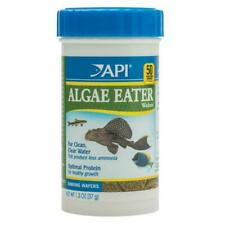 API Algae Eater Wafers 37g Sinking Tropical Fish Food Catfish Plecos Wafer Disc