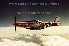 Photo: 5x7: Lt. Col. Hopkins In P-51 Mustang 'Ferocious Frankie' - England, WW2