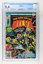 Nova #1 - Marvel 1976 CGC 9.4 Origin and 1st Appearance of Nova (Richard Rider).