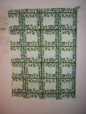 Brunschwig & Fils, Ivy Grid, Floral, Vintage, Novelty Color Green