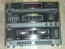 SONY LBT-D105 Stereo System Main Unit HST-D105 ONLY (Turntable Not Included)