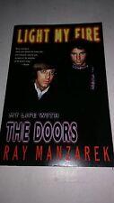 LIGHT MY FIRE - RAY MANZAREK BOOK THE DOORS