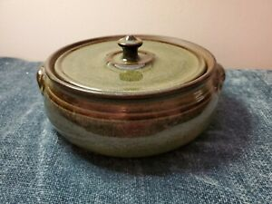 Vintage 1990 Jugtown Ware Covered Tureen/Casserole