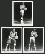 1966-67 L.C. BOWEN CAL CRIDDLE Al SMITH BRADLEY BRAVES BASKETBALL PHOTO CARDS