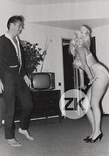JAYNE MANSFIELD Blonde M. HARGITAY Bodybuilder TV Cheesecake Kitsch Photo 1950s