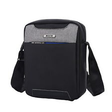 Anti-Theft Shoulder Bag Crossbody Travel Sling Messenger for Men & Teenagers