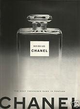50's Chanel 'Bois des Iles'  Perfume Ad 1950