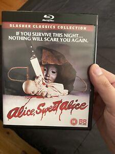 Alice Sweet Alice Bluray Like New 88 Film Slasher Classics UK Region B
