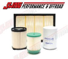 Premium Guard Oil Air & Fuel Filters For 16-18 Nissan 5.0L Cummins Titan XD