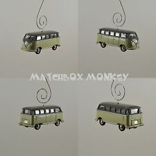 1958 Volkswagen T2 Van Bus Sunagon VW T1 Samba Kombi Custom Christmas Ornament