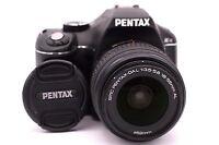 PENTAX Pentax K K-x 12.4 MP Digital SLR Camera - Black (Kit w/ DAL 18-55mm Lens)