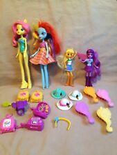 Lot My Little Pony Barbie Dolls doll Figurines Esqestria Girls Hasbro toys used