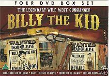 THE LEGENDARY WILD WEST GUNSLINGER BILLY THE KID - 4 DVD BOX SET