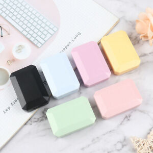 New Candy Color Portable Mini Contact Lens Case Eye Care Container with Mirr.bl